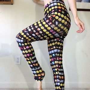 Emoji Leggings M/L